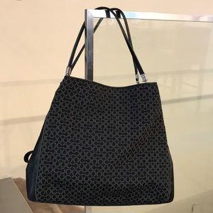 Coach Phoebe Madison leather trim purse